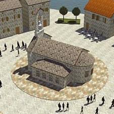 Uz ćupriju na Drini niče Kusturičin grad - Kamengrad će ličiti na Trebinje i Dubrovnik