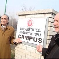 """Bivša kasarna """"Husein-kapetan Gradaščević"""" zvanično postala Kampus Univerziteta u Tuzli"""