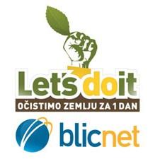 Blicnet učestvovao u ekološkoj akciji Let's Do It