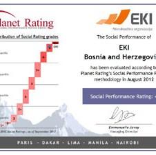 Fondacija EKI među 5 najbolje ocijenjenih mikrokreditnih institucija u svijetu