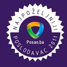 Posao.ba sutra dodjeljuje priznanja najpoželjnijim poslodavcima u BiH