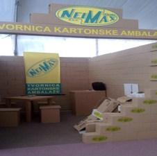 Tvornica kartonske ambalaže Neimax na sajmu EkoBis