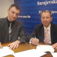 Potpisan memorandum o saradnji između SASE i Društva za tržišne studije - Savremenim analitičkim metodama do vraćanja povjerenja u tržište kapitala