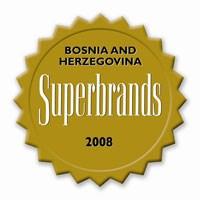 Predstavljanje prvih bosanskohercegovačkih Superbrandova u Sarajevu 30. oktobra 2008. godine