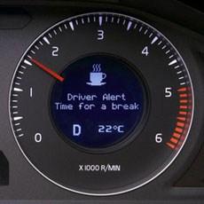 Sistem koji upozorava na umor ili ometenost vozača