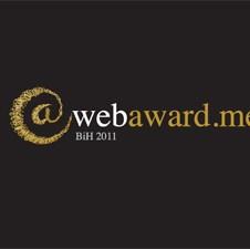 Balkan Web Award - posebna nagrada projekta WebAward.Me 2011