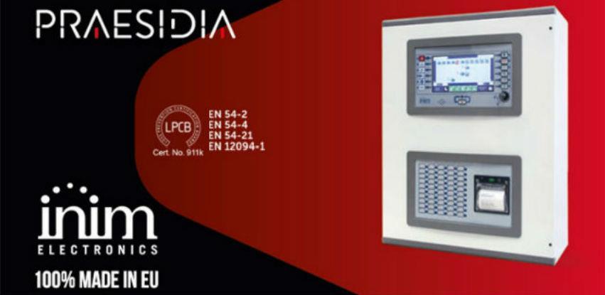 Inim Electronics® Praesidia - Evolucija u tehnologiji dojave požara