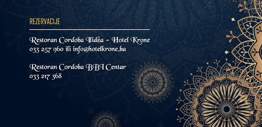 Iftarska ponuda Hotela Krone i Cordoba caféa