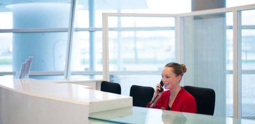 ATALIAN je specijaliziran za izvođenje usluga recepcijske službe