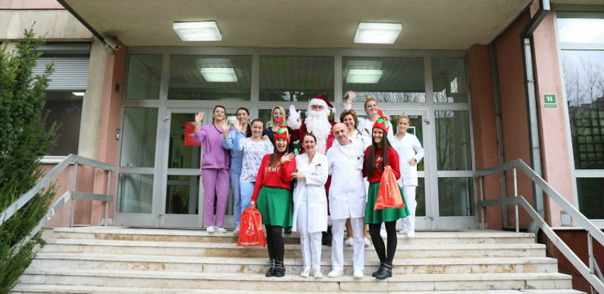 Paketići za male pacijente u Sarajevu i Istočnom Sarajevu