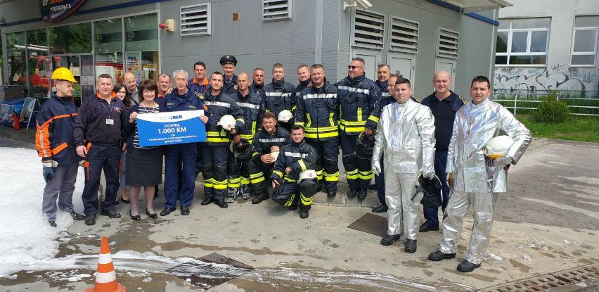 U Posušju i Tuzli kompanija Holdina izvela vatrogasne vježbe