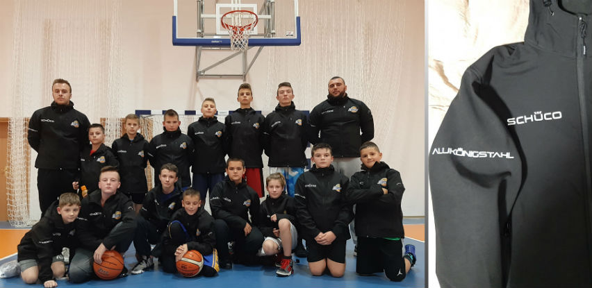 Firma AluKönigStahl donirala softshell jakne za djecu i trenere KK Mladost
