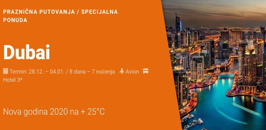 DUBAI - Nova godina 2020 na + 25°C