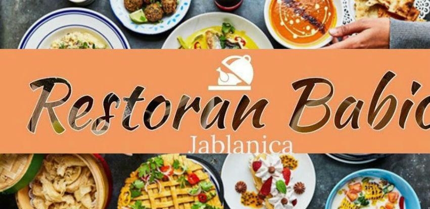 Restoran Babić za vas je izabrao samo najbolje i najukusnije iftarske menije