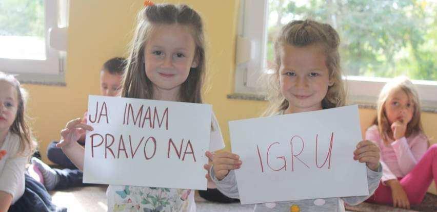 """Mališani Fenixove Igraonice """"Leptirići"""" obilježili Dječiju nedelju"""