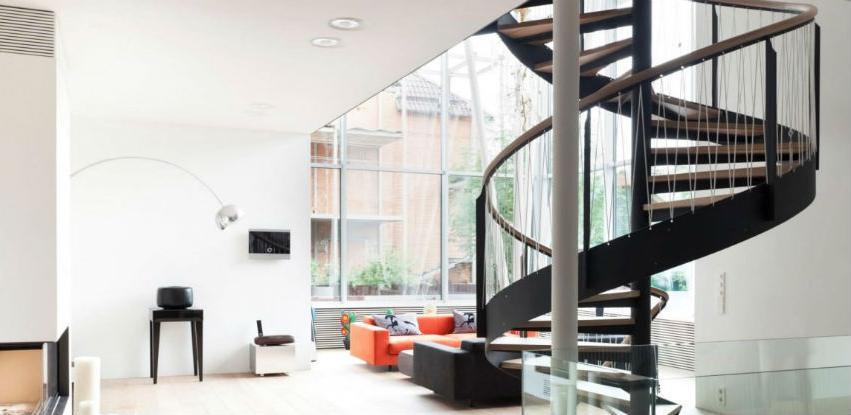 Kružne stepenice zauzimaju minimum prostora u vašem stanu