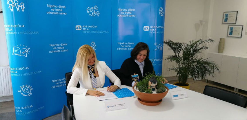Bosnalijek najposvećeniji donator SOS Dječijih sela BiH