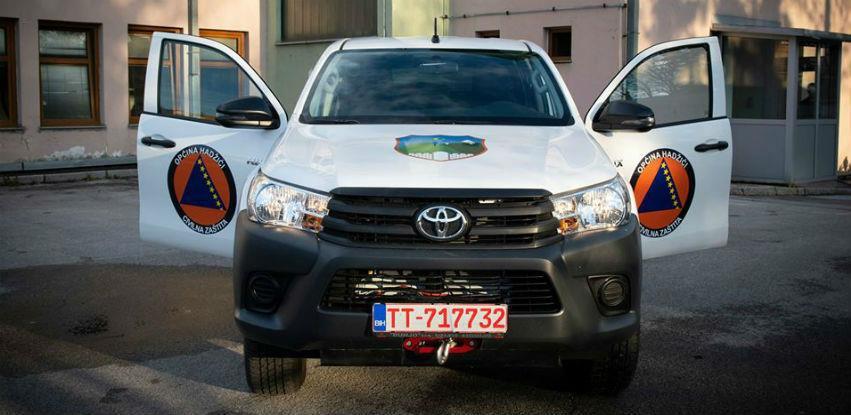 Općina Hadžići obezbjedila terensko vozilo za potrebe civilne zaštite