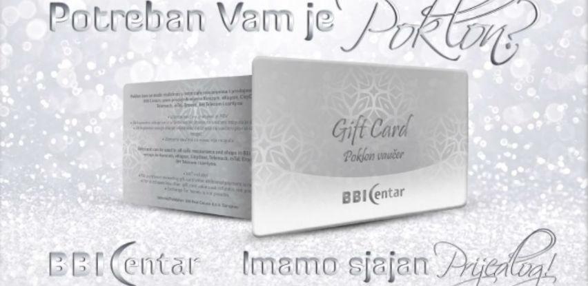 Vrijeme je za savršen poklon - poklon vaučer BBI Centra