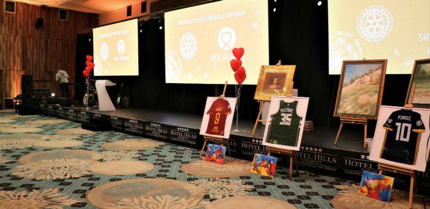 Za djecu oboljelu od raka na donatorskoj večeri prikupljeno 67.000 KM (Foto)