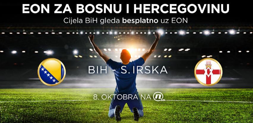 EON ZA BOSNU I HERCEGOVINU - Cijela BiH gleda besplatno reprezentaciju uz EON
