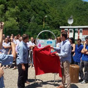 Alma Ras i partneri izgradili dječije igralište u Srebrenici