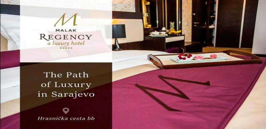 Moderan izgled i luksuzna udobnost u sobama hotela Malak Regency