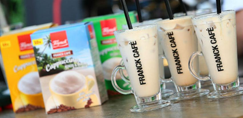 Franck - Sweet coconut ice cappuccino