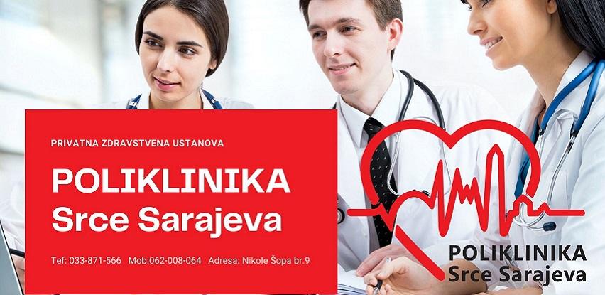Poliklinika Srce Sarajeva: Najbolji paketi za mjesec avgust!
