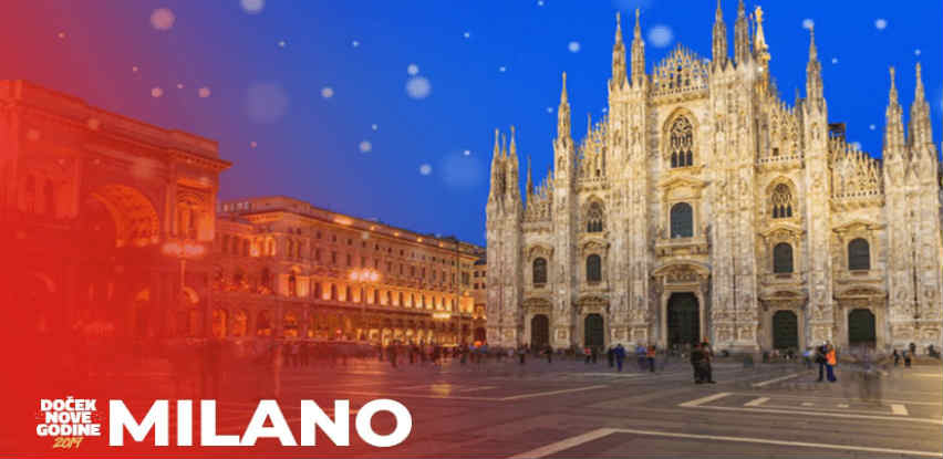 Sa Centrotransom dočekajte Novu godinu u Milanu