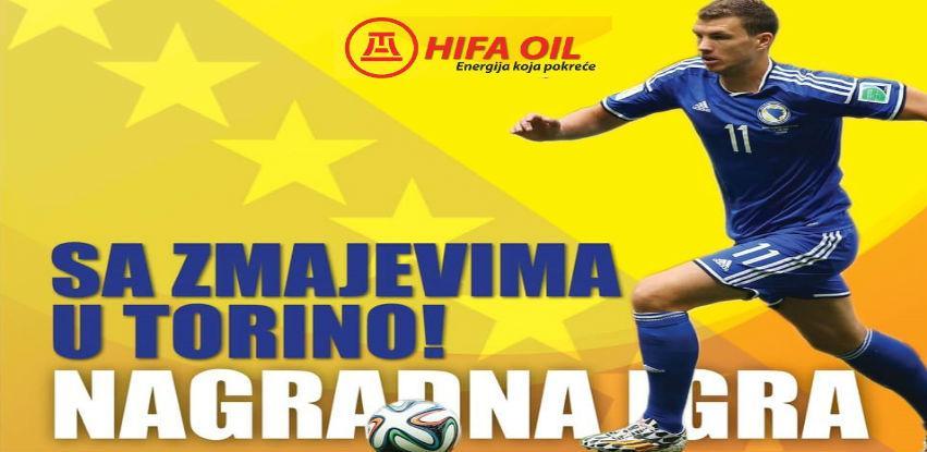 Sa Hifa Oil otputujte u Torino na utakmicu Italija vs BiH