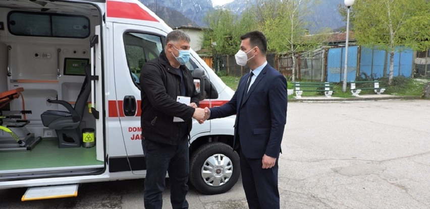 Isporučeno sanitetsko vozilo za potrebe Doma zdravlja Jablanica
