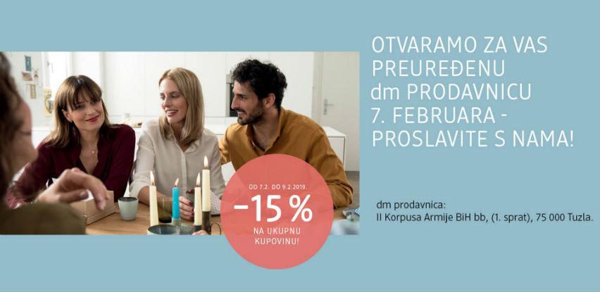 dm drogerie markt BiH otvara preuređenu dm prodavnicu u Tuzli!