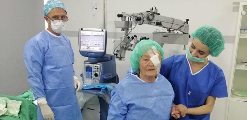Velika akcija operacije katarakte u Poliklinici Srce Sarajeva