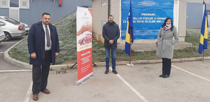 SARAJEVO-OSIGURANJE: Podrška projektu dodjele automobila RVI u FBiH