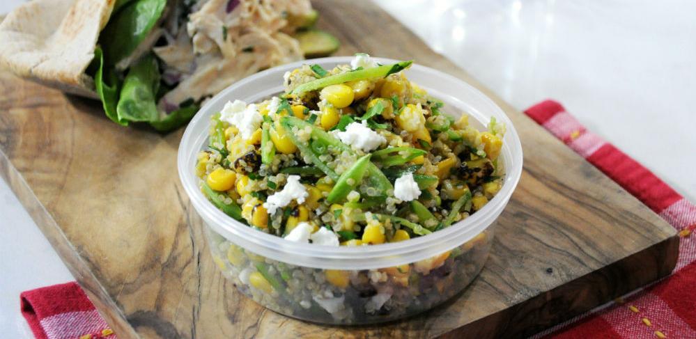 Quinoa salata sa feta sirom - Zdrav obrok za cijelu obitelj!