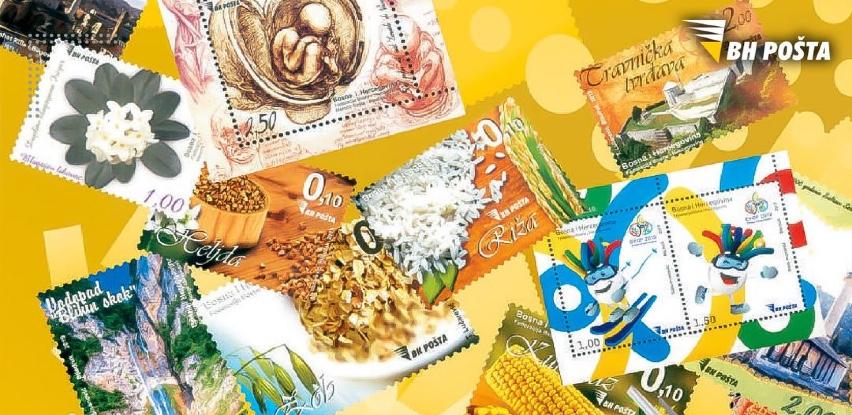 Nova i stara izdanja poštanskih maraka za sve ljubitelje filatelije