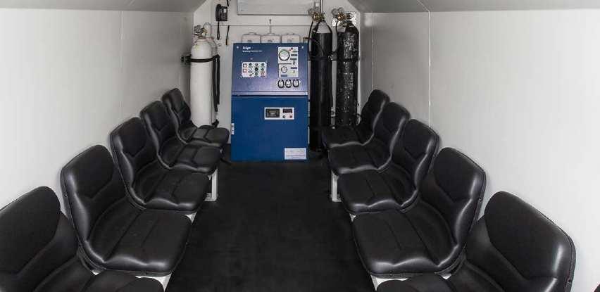 Dräger ERS-komore obezbeđuju sigurno utočište za rudare
