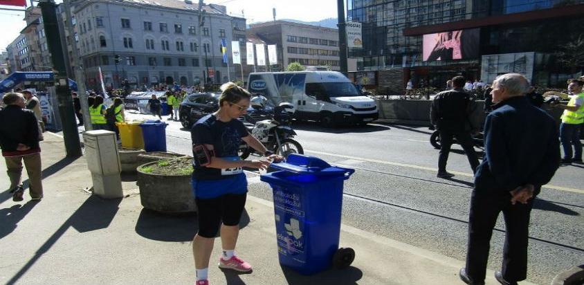 Reciklaža ambalažnog otpada na drugoj proljetnoj trci u Sarajevu