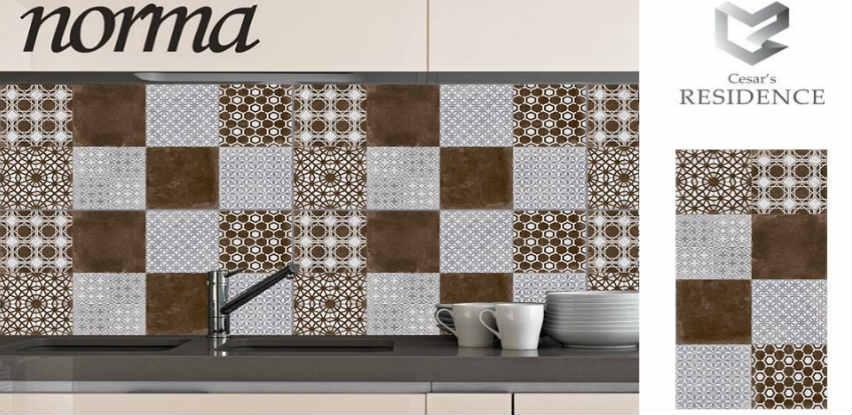 Keramičku pločicu NORMA možete upotrijebiti kao dekoraciju za vašu kuhinju