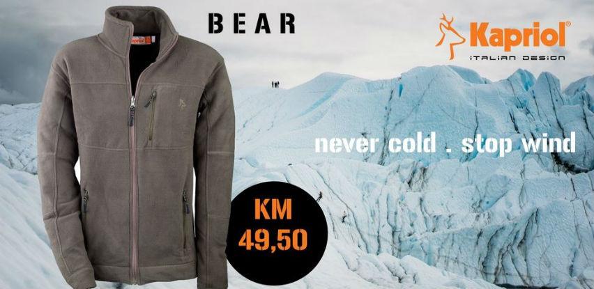Fleece BEAR mekana i komforna višenamjenska jakna