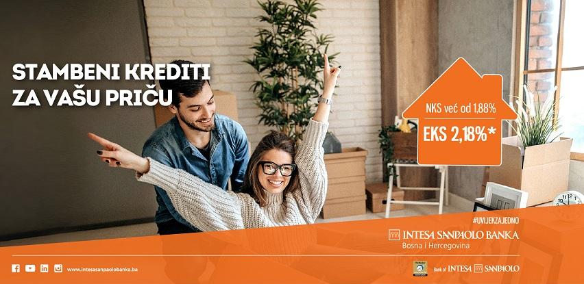 Stambeni krediti za vašu priču, uz kamatnu stopu već od 1,88% (EKS 2,18%)