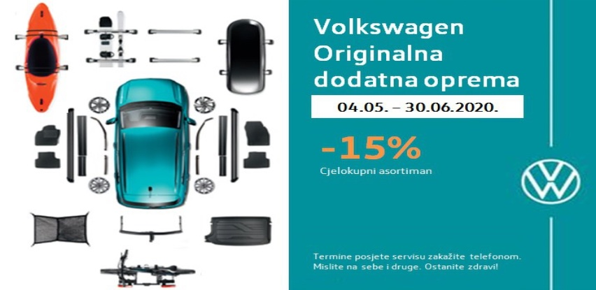 Volkswagen originalna dodatna oprema