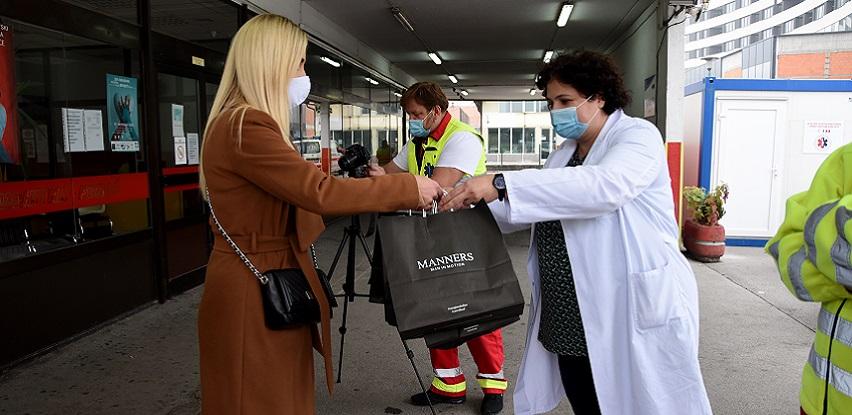 Kompanija Alma Ras poklonima zahvaljuje zdravstvenim radnicima (FOTO)