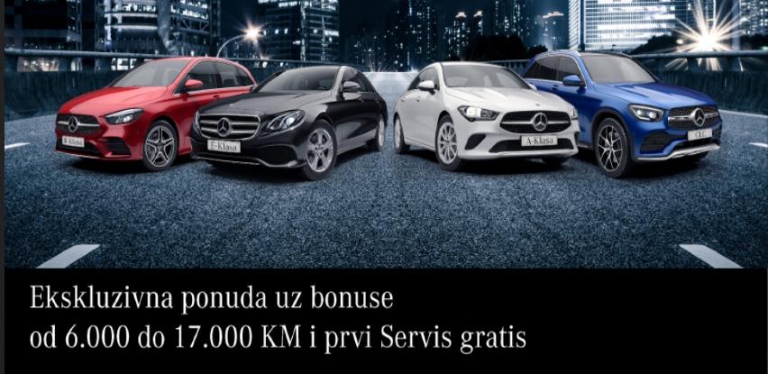 Mercedes-Benz - Ekskluzivna ponuda uz bonuse