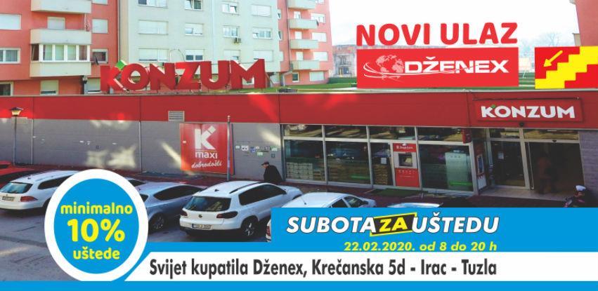 Subota za uštedu u Svijetu kupatila Dzenex Tuzla na Ircu (video)