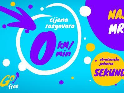 Najjeftnija mobilna mreža u BiH: GO! nudi razgovore po cijeni od 0 KM!