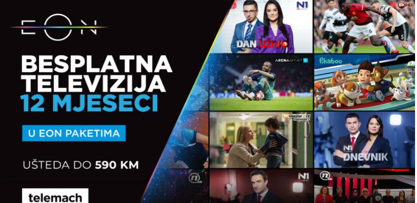 Stiže nova ljetna akcija EON paketa iz Telemacha