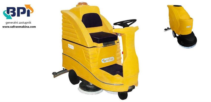 Novo u BPI: SAFRAN mašine za pranje podova i čišćenje pokretnih stepenica