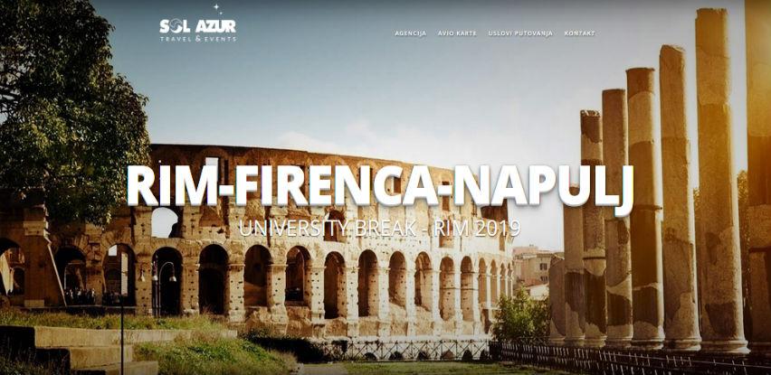 RIM + Firenza i Napulj 179 KM - University Break 2019